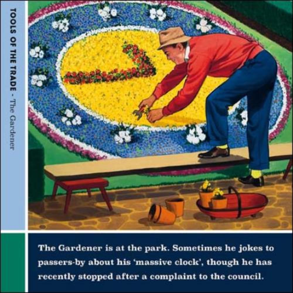 The Gardener Funny Tools Of The Trade Greeting Card