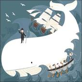 Once Upon A Time Moby Dick Greeting Card