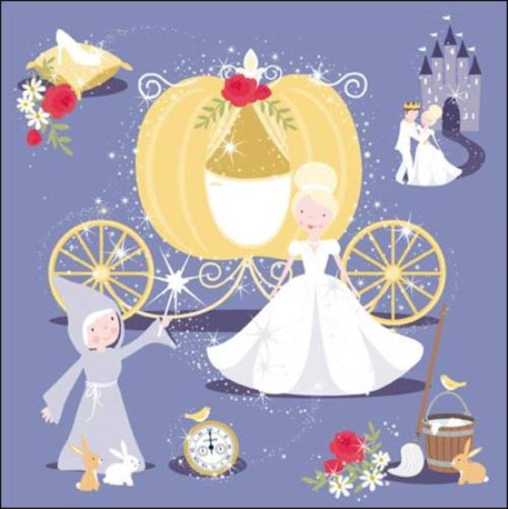 Once Upon A Time Cinderella Greeting Card