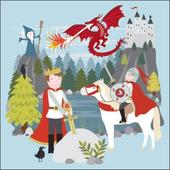 Once Upon A Time King Arthur Greeting Card