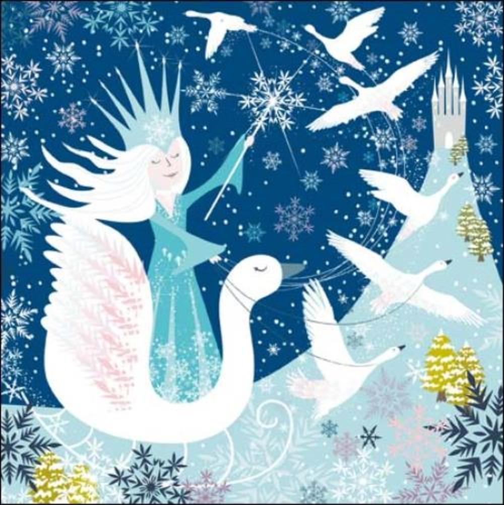 Once Upon A Time The Snow Queen Greeting Card