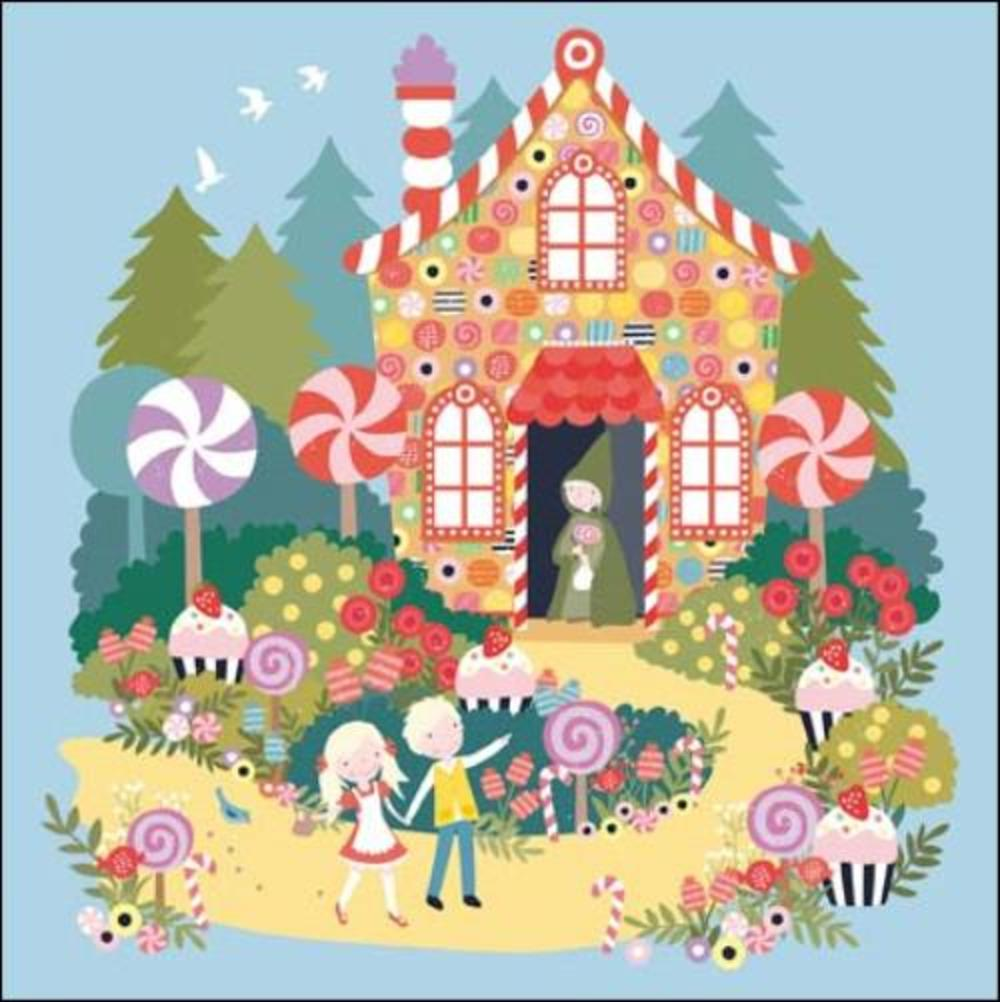 Once Upon A Time Hansel & Gretel Greeting Card