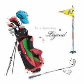 Golf Legend Birthday Greeting Card