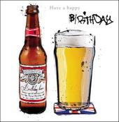 Birthday Beer Happy Greeting Card