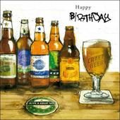 Beer Fan Birthday Greeting Card