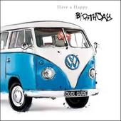 Camper Van Birthday Greeting Card