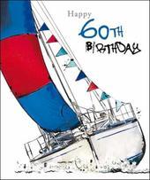 Male 60th Birthday Greeting Card