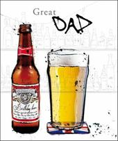 Great Dad Birthday Greeting Card