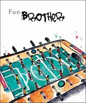 Fun Brother Birthday Greeting Card