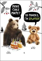 More Cake Mate? Birthday Funny Birthday Card