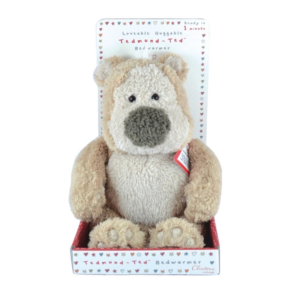 Tedmund Ted Bedwarmer Teddy With Wheat Bag Inside Tummy
