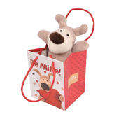 "Boofle Be Mine Mini 3"" Sitting Lamboa Plush Toy In A Bag"