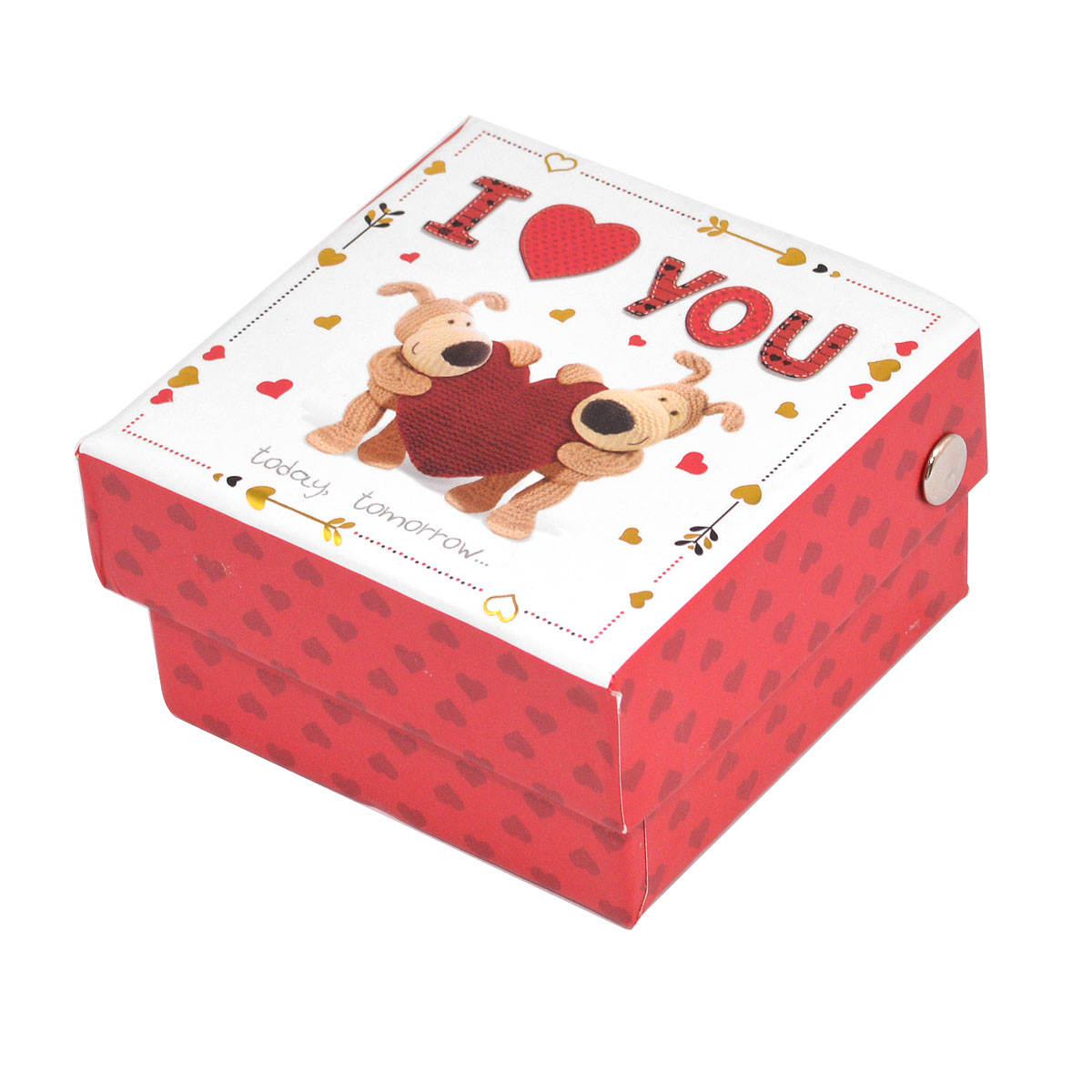 Boofle Ceramic I Love You Token In A Gift Box Valentine S Day Gift