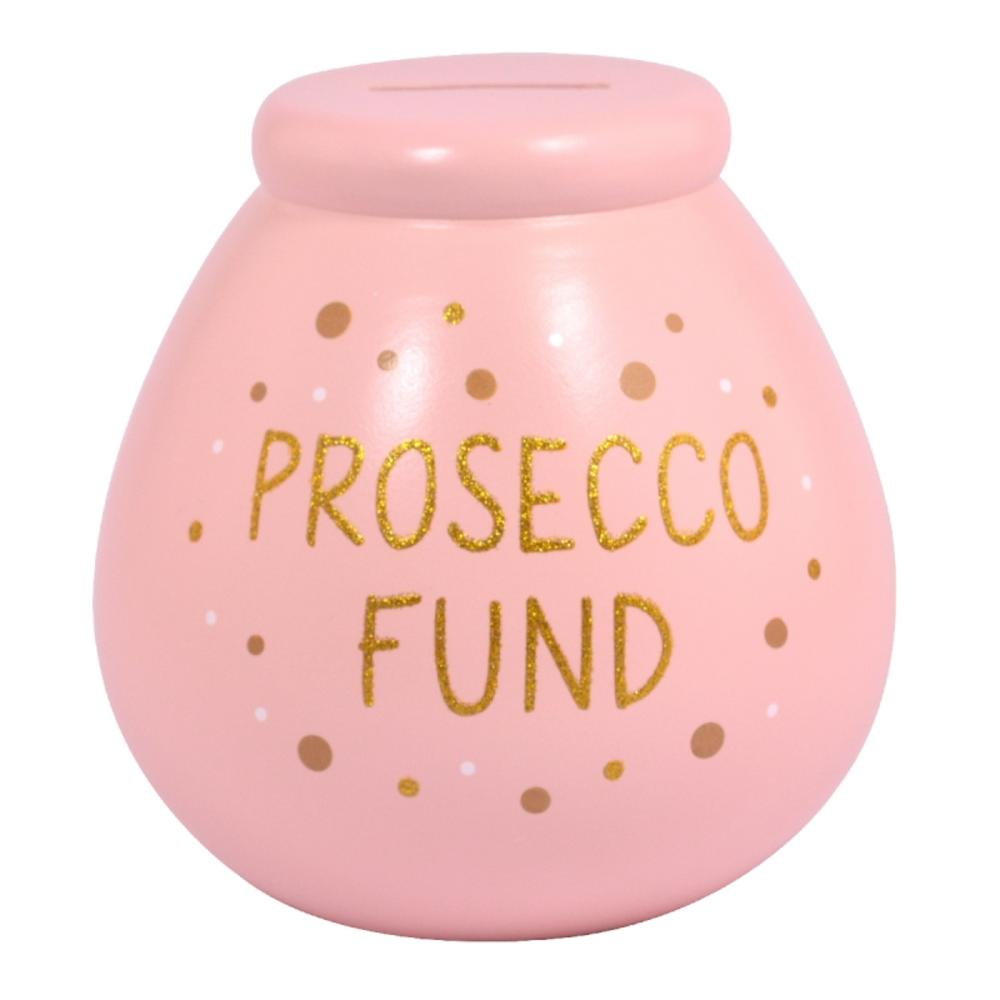 Prosecco Fund Pots of Dreams Money Pot