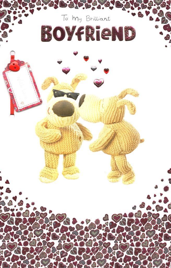 Boofle Brilliant Boyfriend Valentines Day Card Lovely Valentines