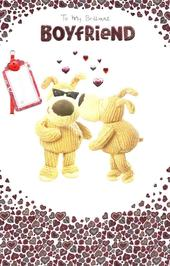 Boofle Brilliant Boyfriend Valentine's Day Card
