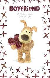 Boofle Boyfriend Valentine's Day Card