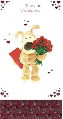Boofle To My Valentine I Love You Valentine's Day Card