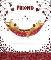 Boofle Wonderful Friend Happy Valentine's Day Card
