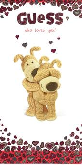 Boofle Guess Who Loves You? Valentine's Day Card