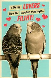 Funny Filthy Lovers Valentine's Day Greeting Card