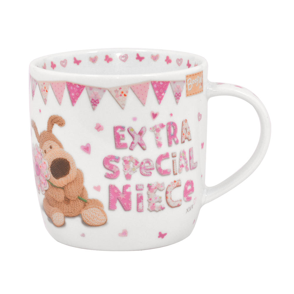 Boofle Special Niece China Mug In Gift Box