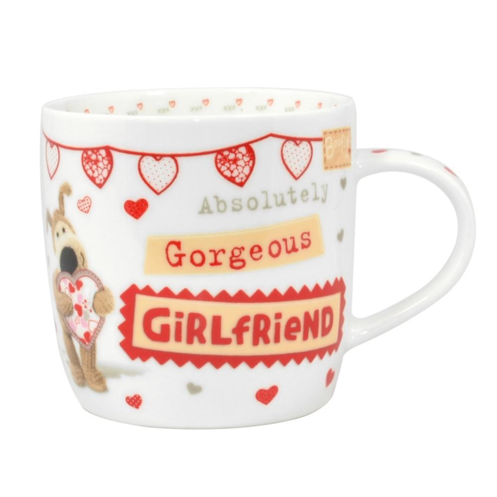 Boofle Gorgeous Girlfriend China Mug In Gift Box