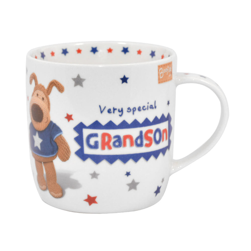 Boofle Special Grandson China Mug In Gift Box