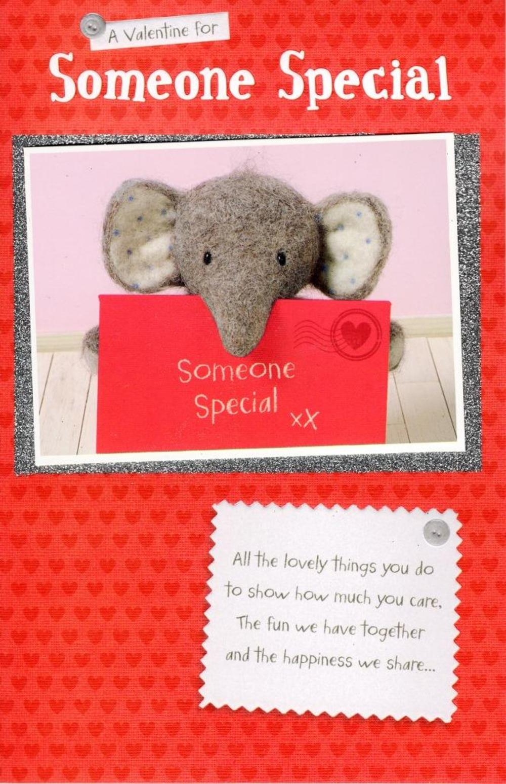 Elliot & Buttons Someone Special Valentine's Day Greeting Card