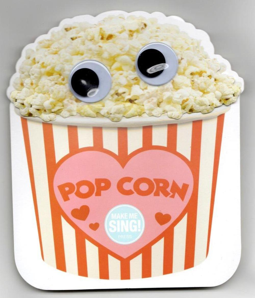 Singing Popcorn Valentine's Day Greeting Card