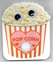 Singing Popcorn Valentine's Day Greeting Card