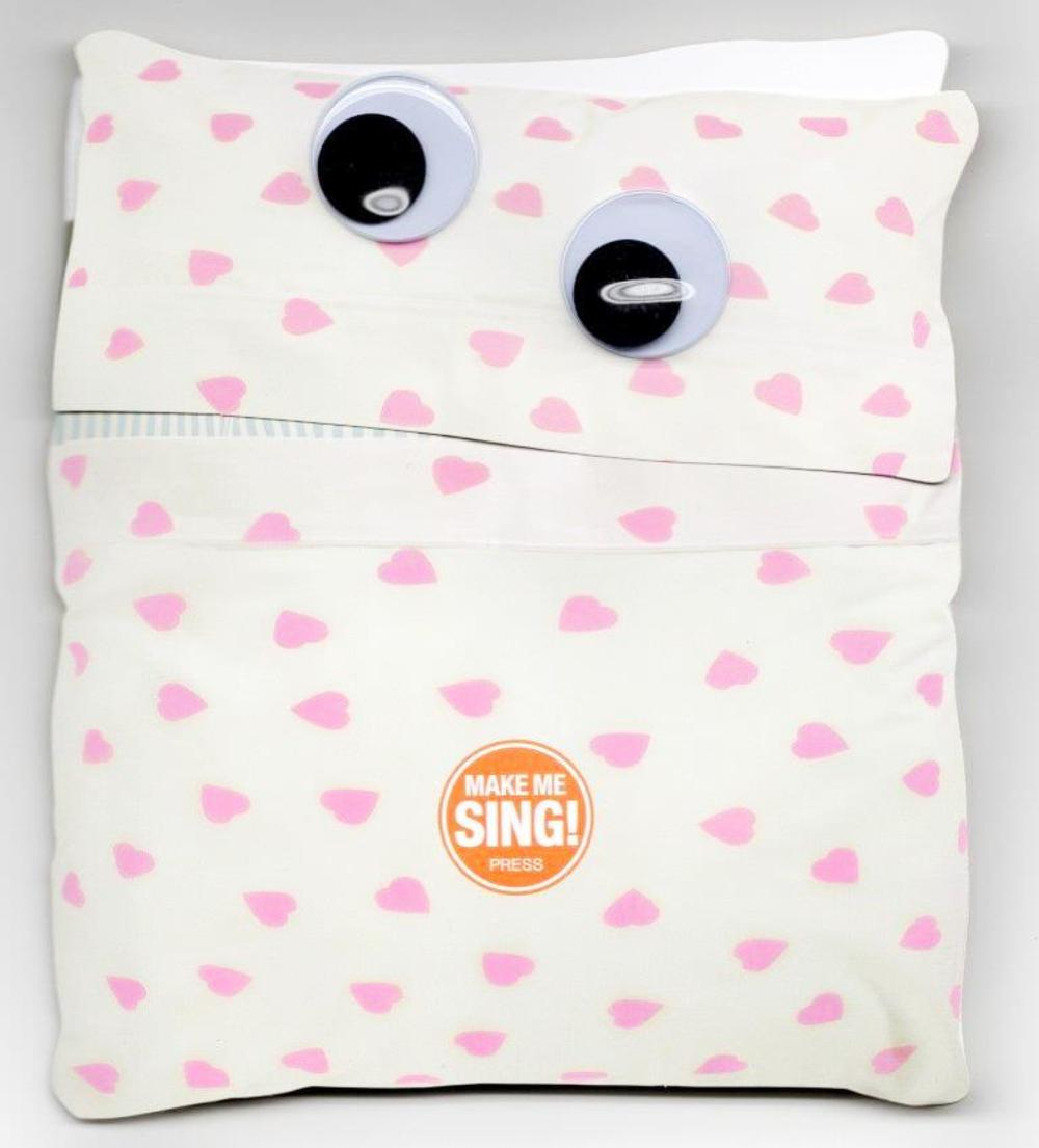 Singing Pillow Valentine's Day Greeting Card