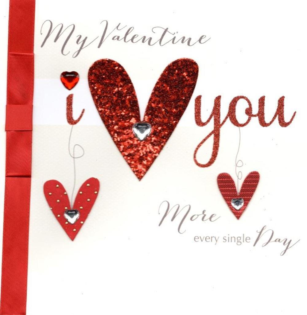 I Heart You Valentine's Day Card