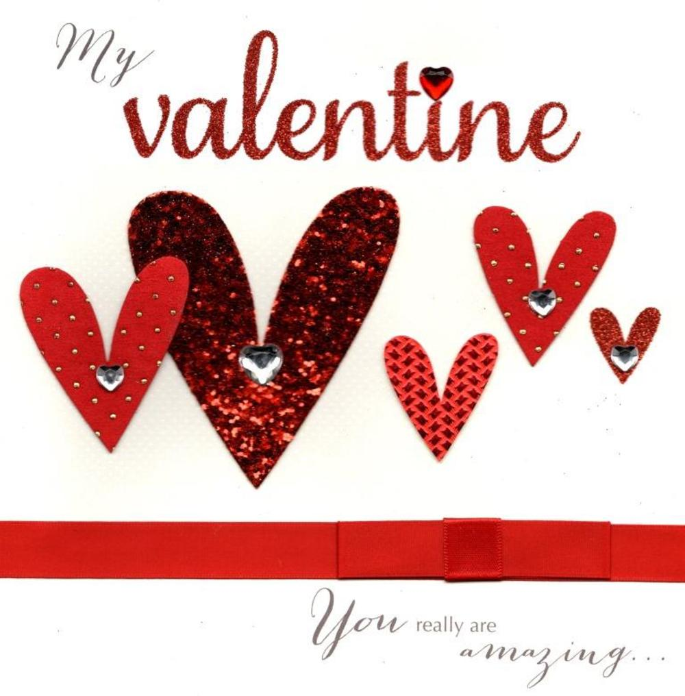 You Are Amazing Valentine's Day Card