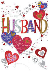 Lovely Husband Valentine's Day Greeting Card