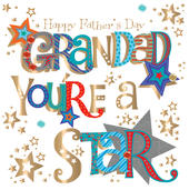 Grandad Happy Father's Day Greeting Card