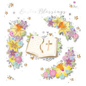 Easter Blessings Easter Greeting Card