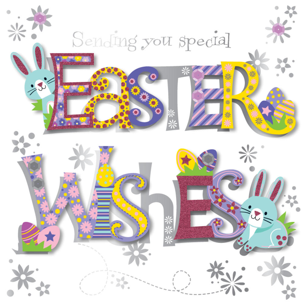 Sending You Easter Wishes Greeting Card