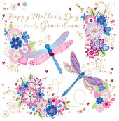 Grandma Happy Mother's Day Greeting Card