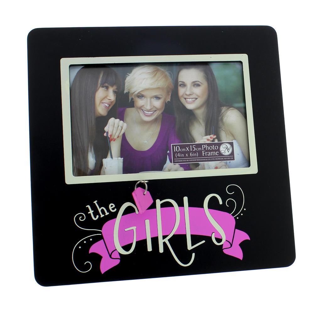 """The Girls Lovely Wooden 6"""" X 4"""" Photo Frame"""