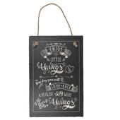 Enjoy The Little Things Hanging Slate Plaque Sign Gift