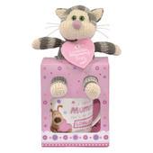 Boofle Loveliest Mummy Puddy Mug & Plush Gift