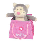 "Boofle Best Mum Gift Mini Lamboa 3"" Puddy Toy In Bag"