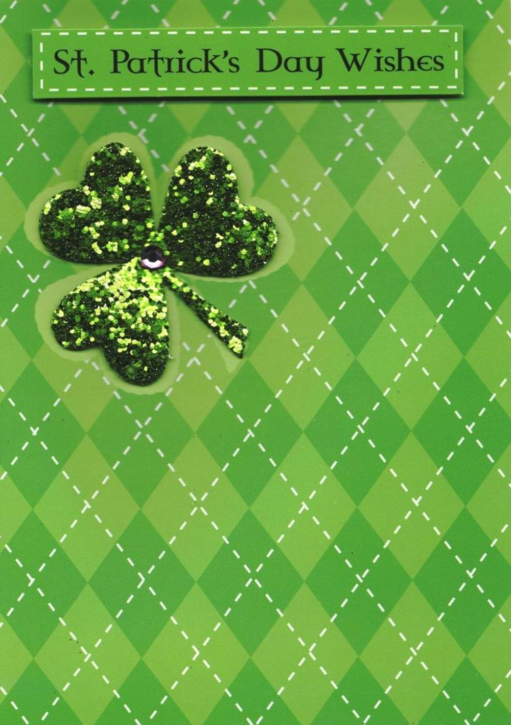St. Patrick's Day Wishes Greeting Card
