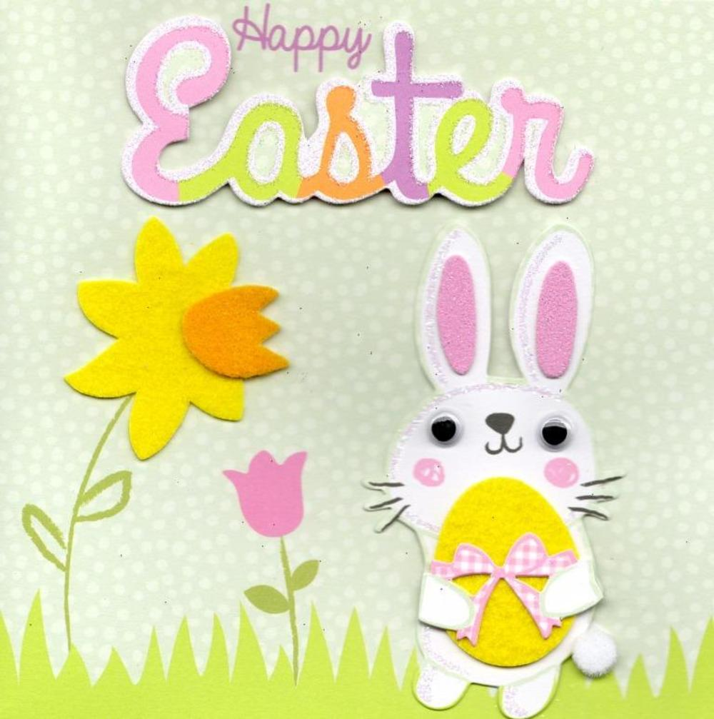 Bunny Happy Easter Greeting Card Cards Love Kates