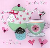 "Just For You 8"" Square Happy Mother's Day Card"