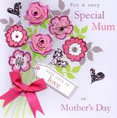 "Special Mum 8"" Square Happy Mother's Day Card"
