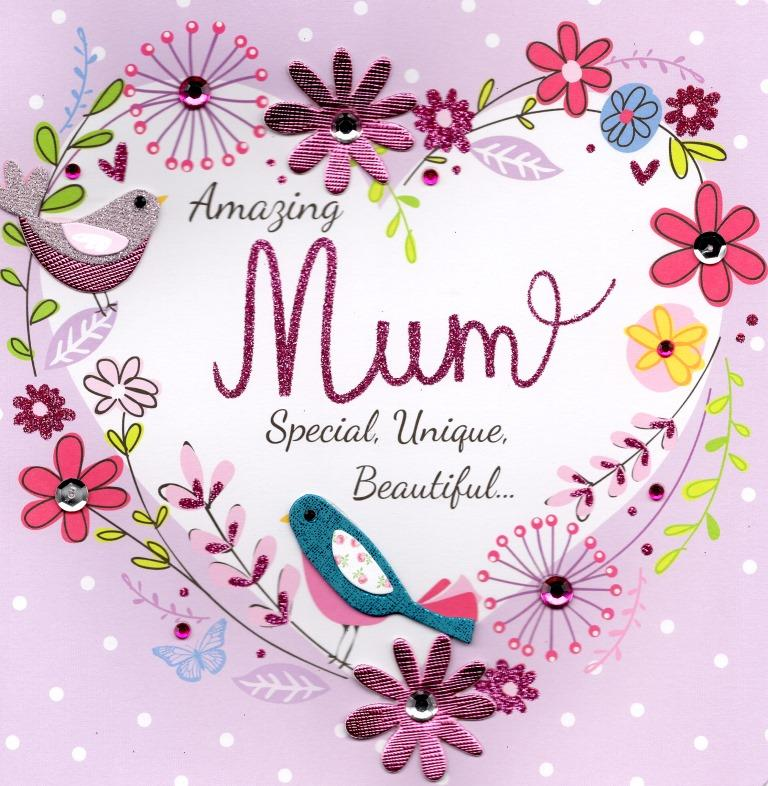 Amazing Mum 8 Quot Square Happy Mother S Day Card Cards