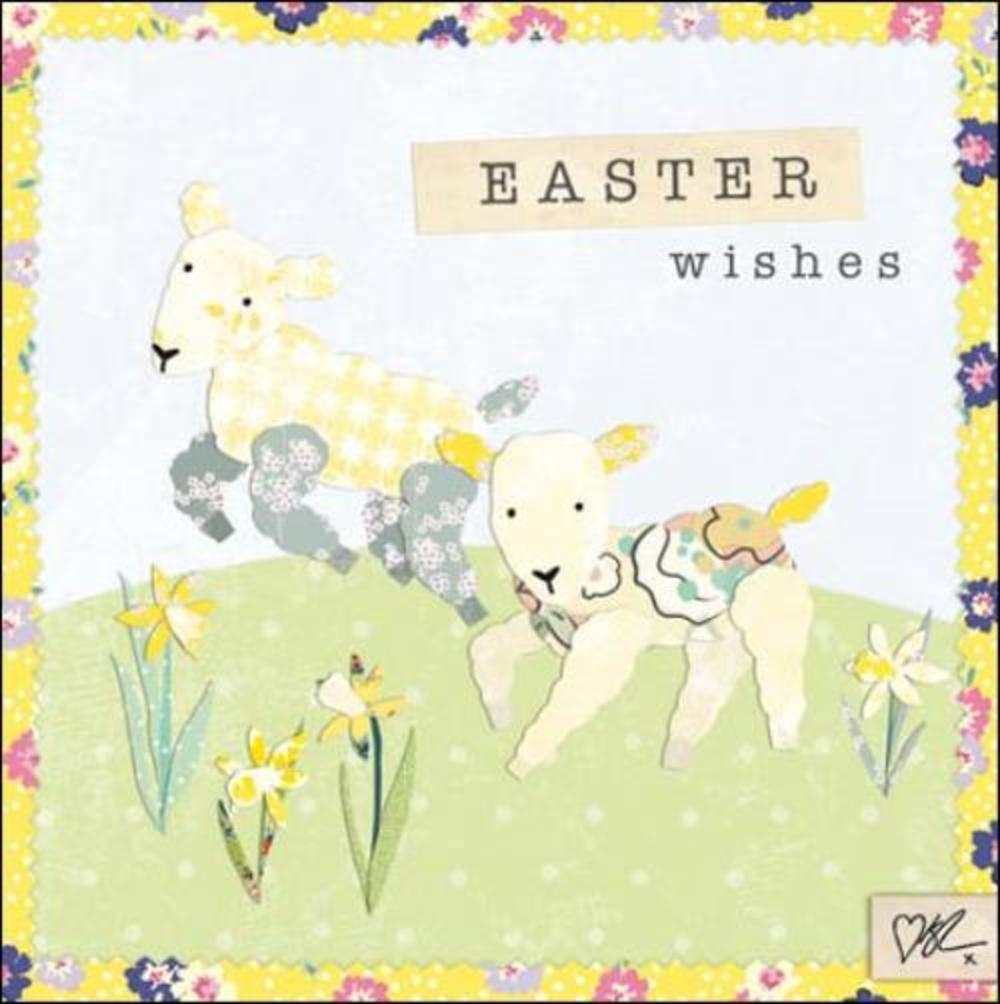 Pack of 5 Kirstie Allsopp Easter Wishes Greeting Cards