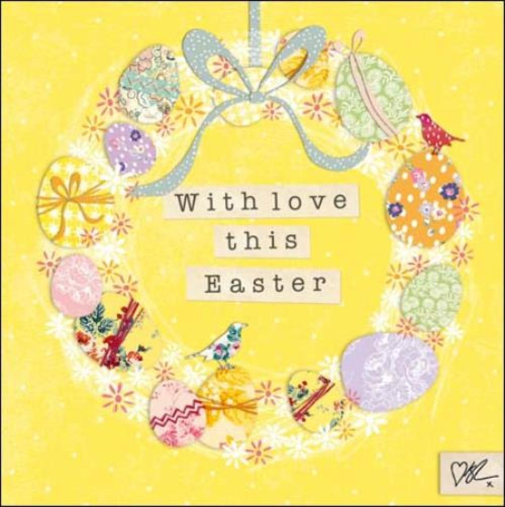 Pack of 5 Kirstie Allsopp Happy Easter Greeting Cards